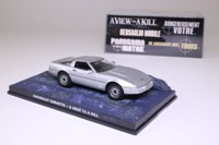 James Bond Chevrolet Corvette; A View To A Kill; Universal Hobbies