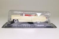 del Prado; 1953 Cadillac Eldorado Convertible; Open Top, Cream, Red Seats