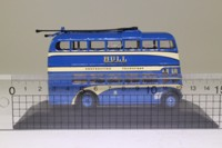 Atlas Editions 4 655 128; Weymann Trolleybus; Hull Corporation; 62b City Circular via Spring Bk