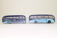 Corgi Classics 97053; York Brothers 2 Coach Set; AEC Regal and Burlingham Seagull
