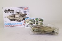4D Model; M1A2 Abrams Main Battle Tank; Self-Assembly Kit