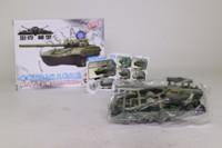 4D Model; T72-M1 Russian Tank; Self-Assembly Kit
