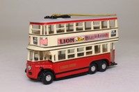 Models of Yesteryear YET03-M; 1931 Diddler Trolleybus; London United; Rt 4 Wimbledon via Raynes Park