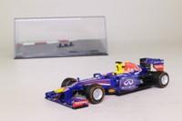 Panini; Red Bull RB9 Formula 1; 2013 Sebastian Vettel