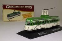 Atlas Editions 4 655 123; Blackpool Brush Railcoach; Pleasure Beach, Promenade