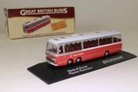 Atlas Editions 4 655 122; Bedford Val / Plaxton Panorama Coach; Hants & Dorset, Excursion