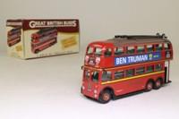 3 Axle QI Trolleybus; London Transport; Rt 657 Hounslow, Chiswick, Brentford; Atlas Editions 4 655 104