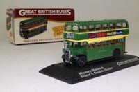 Atlas Editions 4 655 109; Bristol K Bus; Western National; 178 Paignton Bus Stn & Zoo