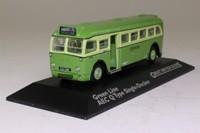 Atlas Editions 4 655 114; AEC Q Single Deck Bus; Greenline, Sunningdale via Victoria