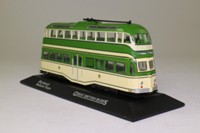 Atlas Editions 4 655 113; Blackpool Balloon Tram; Post War Livery, Fleetwood/Promenade