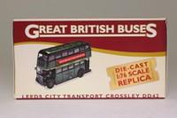Atlas Editions 4 655 119; Crossley DD42 Bus; Leeds Corporation, Roundhay Special
