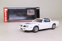 Auto World AWR1116/06; 1977 Pontiac Trans Am; White