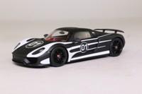 Spark WAP 020 105 0D; Porsche 918 Spyder Prototype; Black & White