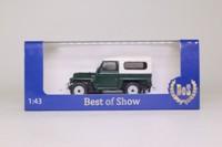 Best of Show BOS43670; 1982 Land-Rover Series III Lightweight; Bronze Green & Limestone