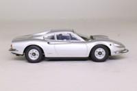 Kyosho 05081S; 1970 Ferrari Dino 246GT; Metallic Silver