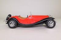 Majorette 4101; Bugatti Type 55; De La Chapelle, Red