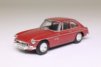 Dinky by Matchboxc DY-19; 1973 MGB GT V8; Maroon