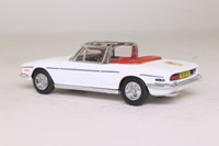 Dinky Toys DY-28; 1969 Triumph Stag; Open Top, White