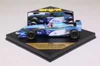 ONYX 244; Pacific Ford PR02 Formula 1; 1995 Andrea Montermini; RN17