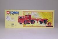 Corgi Classics 22501; Bedford TK; Artic Flatbed Trailer, BRS, Pallets Load