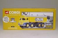 Corgi Classics 14501; Foden S21 Mickey Mouse; 8 Wheel Rigid Covered Tipper, Blue Circle Cement