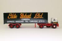 Corgi Classics 13601; Foden S21 Mickey Mouse; Artic Double-Axle Box Trailer; Eddie Stobart