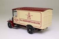 Corgi Classics C853; 1929 Thornycroft Van; MA Rapport & Co, Cardiff