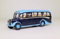 Corgi Classics Code 3; Bedford OB Duple Vista Coach; Leather's Coaches, Maiden Bradley