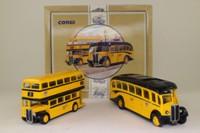 Corgi Classics 96990; AEC Bus & Coach Set; Regal Coach & Regent Bus