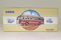 Corgi Classics 97171; Burlingham Seagull Coach; Neath & Cardiff: Dest Swansea, Neath, Port Talbot, Pyle, Bridgend, Cowbridge, Cardiff