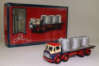 Corgi Classics 24503; Leyland Mouthorgan Cab; 8 Wheel Flatbed, Walter Southworth, Vats Load