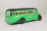 Corgi Classics C949/1; Bedford OB Duple Vista Coach; Norfolk's of Nayland; Dest: Ipswich, Small Lettering on Destination Blind