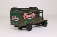 Corgi Classics C929; 1929 Thornycroft Van; Gamleys: Green With Roof Rack