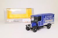 Corgi Classics C834; 1929 Thornycroft Van; Lyons Swiss Rolls