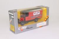 Corgi Classics C915; 1929 Thornycroft Van; OXO, Red & Black