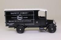 Corgi Classics C910; 1929 Thornycroft Van; Small & Parkes, Safety First