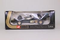 Corgi 154; Lotus 72 Formula 1 John Player Special; Emerson Fittipaldi; RN1