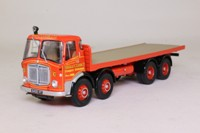 Corgi Classics CC11501; AEC MkV Truck; 8 Wheel Rigid Flatbed, Siddle Cook, Lazy Trout Cafe