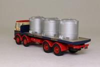 Corgi Classics 24503; Leyland Mouthorgan Cab; 8 Wheel Flatbed, Walter Southworth, Vats Load