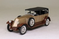 Solido 4059; 1926 Renault 40CV; Tourer, Soft Top, Gold, Brown Chassis