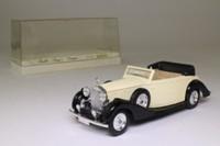 Solido 4071; 1939 Rolls Royce Twenty Cabriolet; Open Top, Cream/Black, Tan Seats