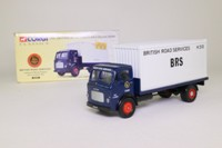 Corgi Classics 25101; Leyland Mouthorgan Cab; 4 Wheel Flatbed with Container, BRS Meat Haulage