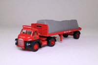 Corgi Classics 19901; Bedford S; Artic Flatbed, Sheeted Load, British Road Services, Swindon