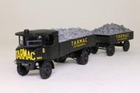 Corgi Classics CC20001; Sentinel Steam Wagon; Flatbed & Trailer, Tarmac, Loose Stone Load