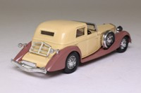 Solido 4051; 1939 Delage D8-120; Coupe de Ville, Beige/Coffee