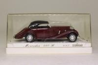 Solido 4067; 1939 Mercedes-Benz 540K; Soft Top, Maroon & Black