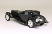 Solido 4036; 1930 Bugatti Royale Coupe de Ville; Black, Open Cockpit