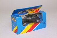 Matchbox/Lesney 44f; Citroën CV15 Traction Avant; Black w White Seats
