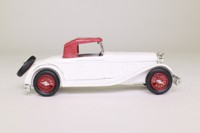 Eligor 1003; 1932 Delage D8S Cabriolet; Soft Top, Cream & Red