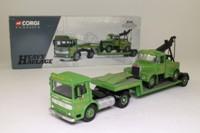 Corgi Classics 31003; AEC Ergomatic Cab; Artic Low Loader & Scammell Highwayman Wrecker, Chris Miller